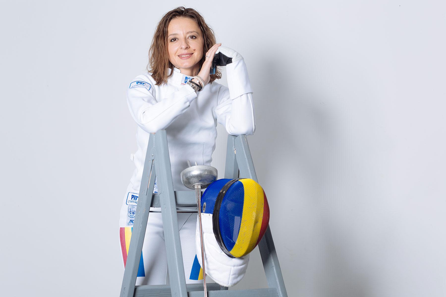 Ana Maria Brânză - desemnată cea mai valoroasă spadasină a ...  |Ana Maria Branza