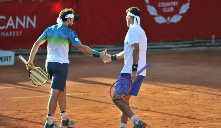 Florin Mergea și Horia Tecău. Fotografii: SportsPictures