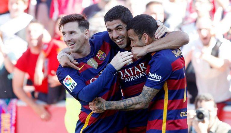 Jucătorii Barcelonei celebrează un titlu obținut mai greu decât s-ar fi așteptat în luna martie  Foto: FC Barcelona / Facebook