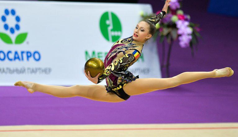 Ana Luiza Filiorianu la Grand Prix, Moscova. Foto de Vladimir Astapkovich/Sputnik