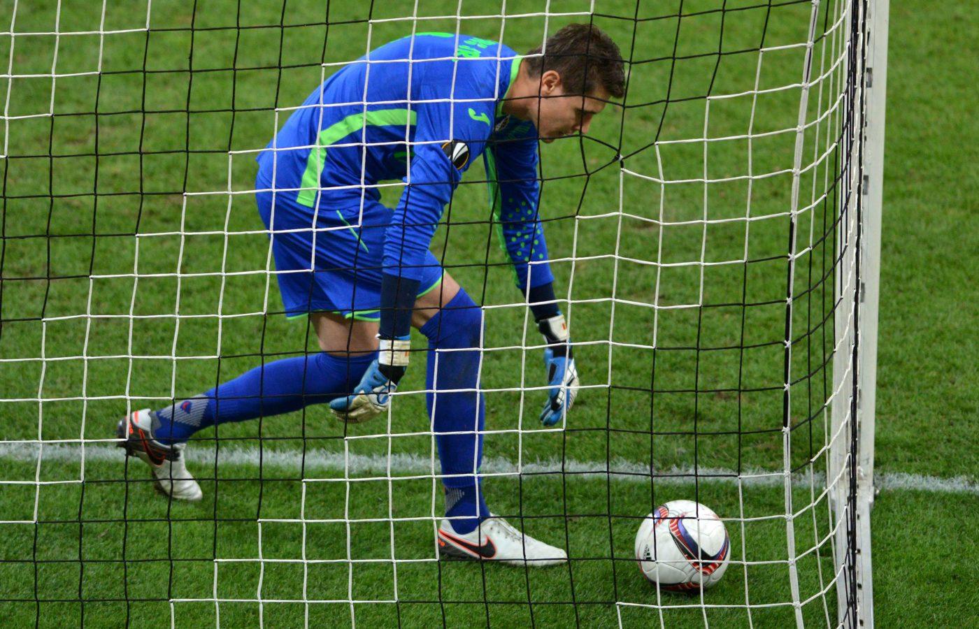 Lung Jr a fost nevoit să scoată mingea din plasă de patru ori la Roma. Foto: Răzvan Păsărică / Sport Pictures